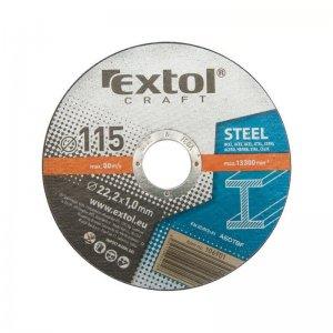 Kotouče řezné na kov 5ks 150x1,6x22,2mm EXTOL CRAFT 106930