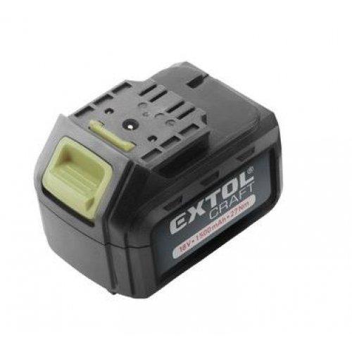 Baterie akumulátorová 18V, Li-ion, 1500mAh EXTOL CRAFT 402440B
