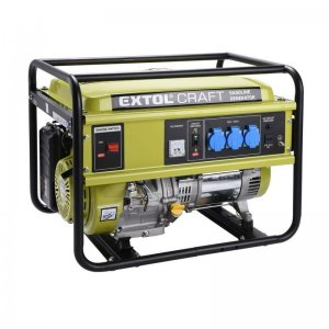 Benzínová elektrocentrála EXTOL CRAFT 421010