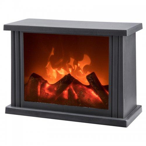 Krb s plápolajícím ohněm LED EXTOL LIGHT 43400