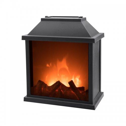 Krb s plápolajícím ohněm LED EXTOL LIGHT 43401