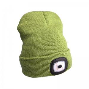 Čepice s čelovkou zelená EXTOL LIGHT 43192
