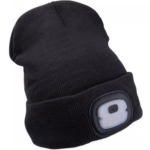Čepice s čelovkou tmavě šedá EXTOL LIGHT 43452