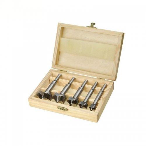Frézy-sukovníky do dřeva sada 5ks 15-35mm EXTOL CRAFT 44015