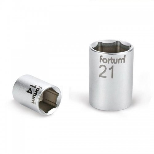 """Hlavice nástrčná 1/2"""" 17mm L 38mm 61CrV5 FORTUM 4700417"""