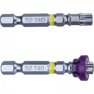 Sada hrotů TORX s magnetem, T 40x50mm, FORTUM 4741489
