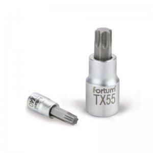 "Hlavice zástrčná TORX 1/4"" TX 30 L 37mm FORTUM 4701725"
