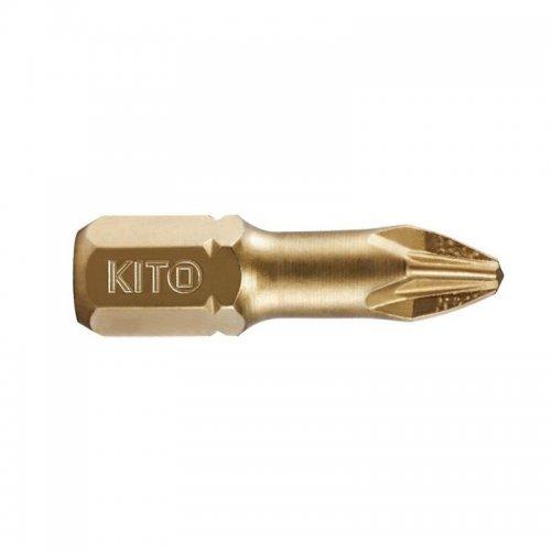 Hrot PZ 0x25mm S2/TiN KITO 4820200