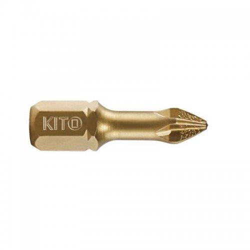 Hrot PH 3x25mm S2/TiN KITO 4820103