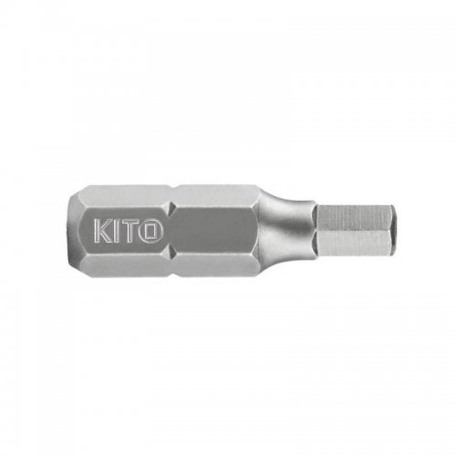 Hrot imbus vrtaný HTa 6x25mm S2 KITO 4810407