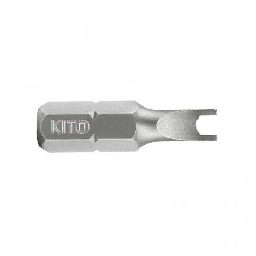 Hrot plochý vrtaný S2 6x25 mm S KITO 4810512