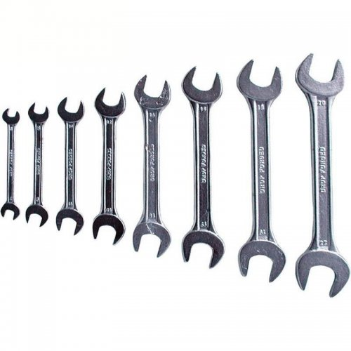 Klíče ploché sada 8ks 6-22mm EXTOL CRAFT 6108B