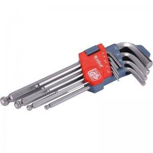 L-klíče imbus sada 9ks 1,5-10mm s kuličkou EXTOL PREMIUM 6609