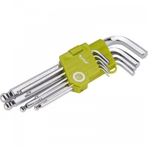 L-klíče imbus sada 9ks 1,5-10mm s kuličkou EXTOL CRAFT 66001