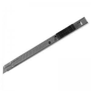 Nůž ulamovací celokovový nerez 9mm AUTO-LOCK EXTOL CRAFT 80043