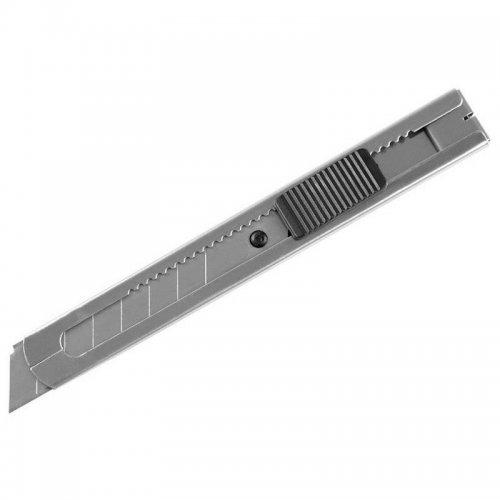 Nůž ulamovací celokovový nerez 18mm AUTO-LOCK EXTOL CRAFT 80055