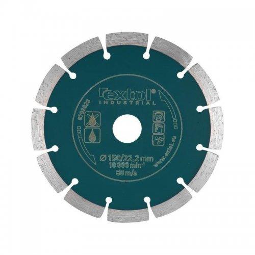 Dia kotouč řezný segmentový Grab Cut, 125x22,2mm EXTOL INDUSTRIAL 8703032
