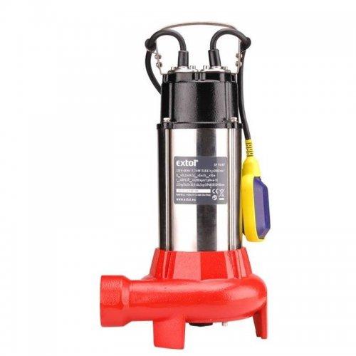Kalové čerpadlo ponorné elektrické EXTOL PREMIUM 8895005