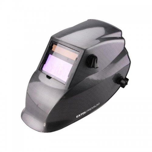 Kukla svářecí samostmívací, karbonová EXTOL PREMIUM 8898027