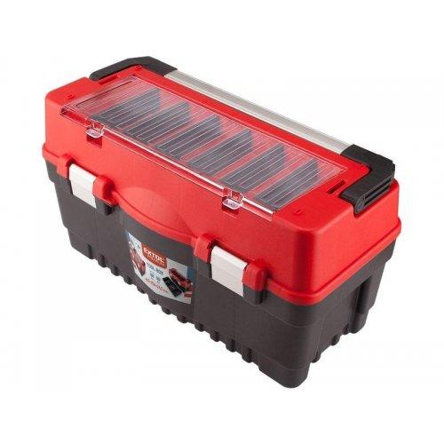 Kufr na nářadí CABRO 595x289x328mm EXTOL CRAFT 8856082