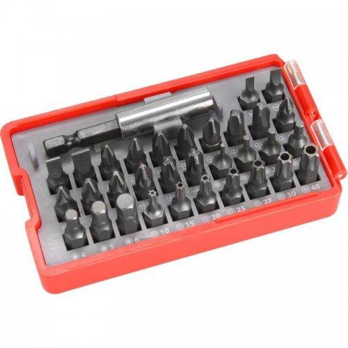 Sada hrotů 33ks + magnetický držák hrotů EXTOL PREMIUM 8819641