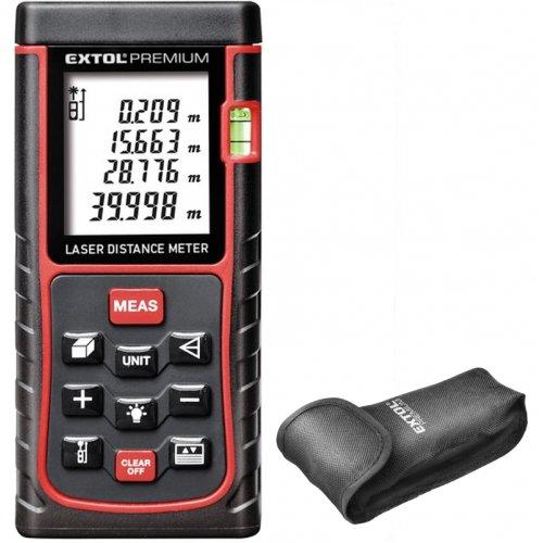 Metr laserový digitální 0,05-40m EXTOL PREMIUM 8820042