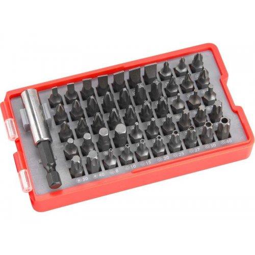 Sada hrotů 51ks + magnetický držák hrotů EXTOL PREMIUM 8819642