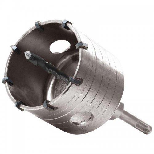 Vrták SDS PLUS do zdi korunkový 68mm délka stopky 100mm EXTOL PREMIUM 8801954