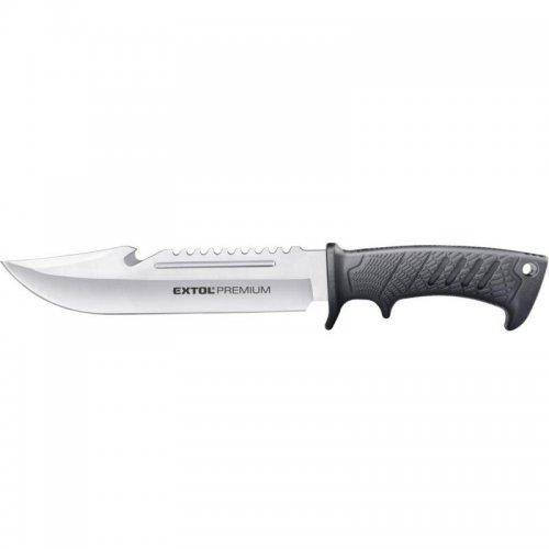 Nůž lovecký nerez 318/193 mm EXTOL PREMIUM 8855322