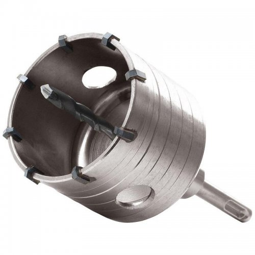 Vrták SDS PLUS do zdi korunkový 79mm délka stopky 100mm EXTOL PREMIUM 8801960