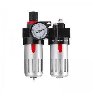 Regulátor tlaku s filtrem a manometrem EXTOL PREMIUM 8865105