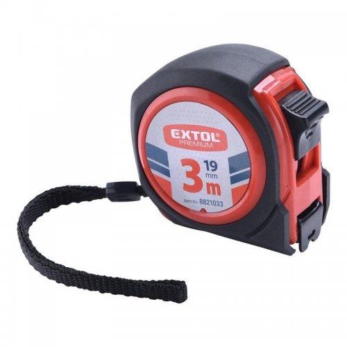 Metr svinovací COMPACT 3m x 19mm EXTOL PREMIUM 8821033