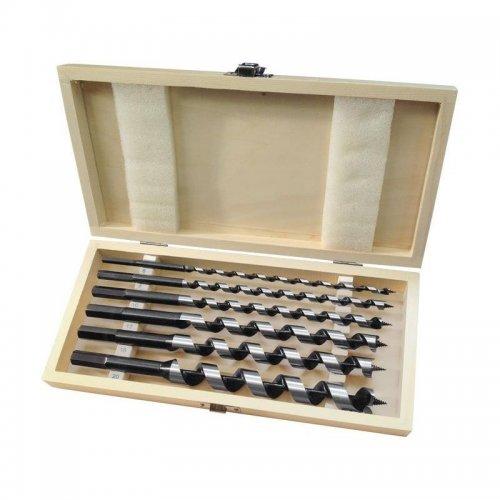 Vrtáky hadovité do dřeva sada 6ks 6-8-10-12-16-20x260mm EXTOL PREMIUM 8801290