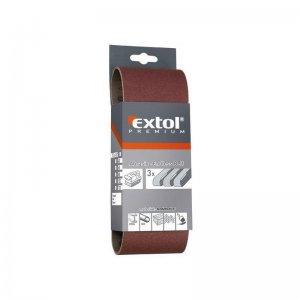 Nekonečný pás brusné plátno bal.3ks P120 EXTOL PREMIUM 8803532