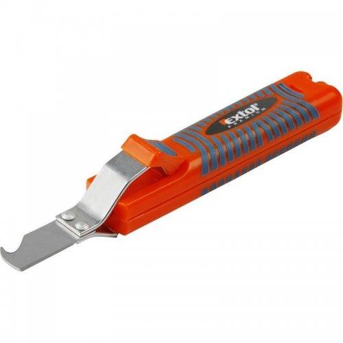 Nůž na odizolování kabelů 8-28mm délka nože 170mm EXTOL PREMIUM 8831100