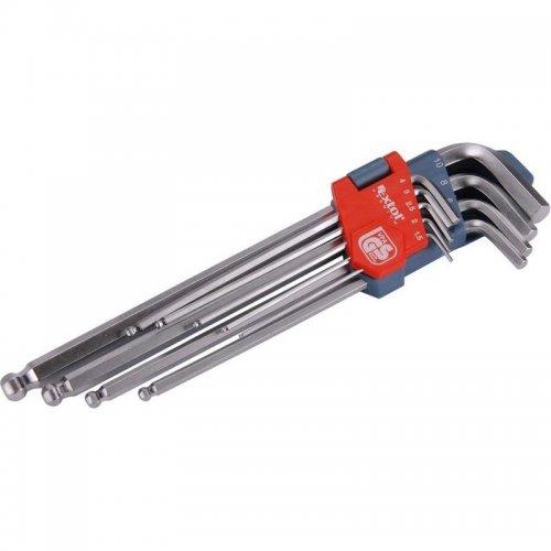 L-klíče imbus prodloužené sada 9ks 1,5-10mm s kuličkou EXTOL PREMIUM 8819312