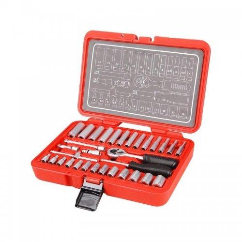 Klíče nástrčné sada 32ks Crv EXTOL PREMIUM 8818310