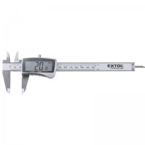 Měřítko posuvné digitální plastové, 0-150mm EXTOL CRAFT 925200