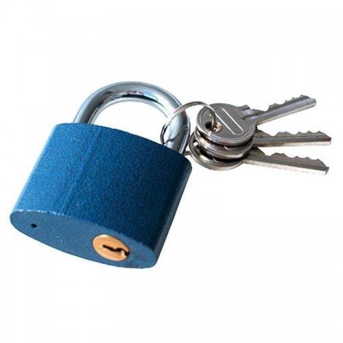 Zámek visací litinový 38mm 3 klíče zacvakávací EXTOL CRAFT 93138