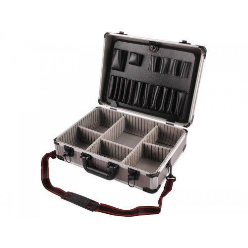 Kufr na nářadí hlíníkový 450x330x150mm EXTOL CRAFT 8700