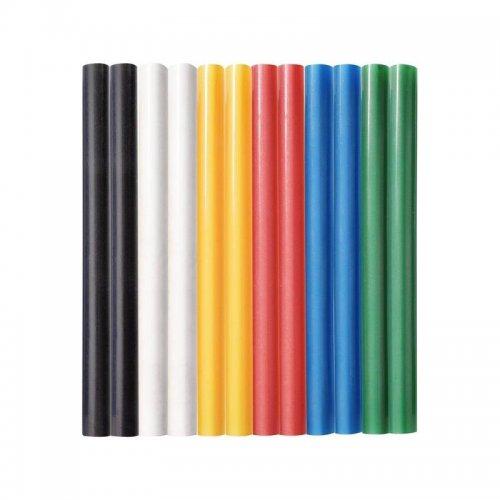 Tavné tyčinky mix barev průměr 11x100mm 12ks EXTOL CRAFT 9909