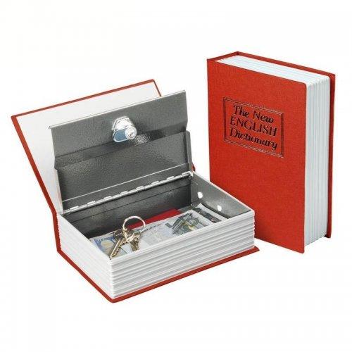 Schránka bezpečnostní vzhled knihy 265x205x65mm 2 klíče EXTOL CRAFT 99026