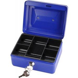 Schránka na peníze přenosná s pořadačem na mince 200x160x90mm 2 klíče EXTOL CRAFT 99011