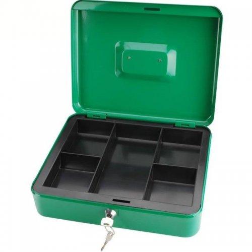 Schránka na peníze přenosná s pořadačem na mince 300x240x90mm 2 klíče EXTOL CRAFT 99013