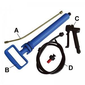 Náhradní díly pro zahradní postřikovač (pumpa) EXTOL CRAFT 92603A