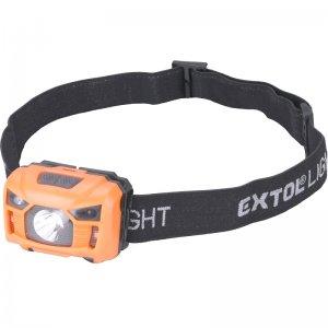 Čelovka 100lm 3W LED nabíjecí EXTOL LIGHT 43180