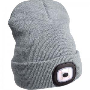 Čepice s čelovkou šedá EXTOL LIGHT 43195