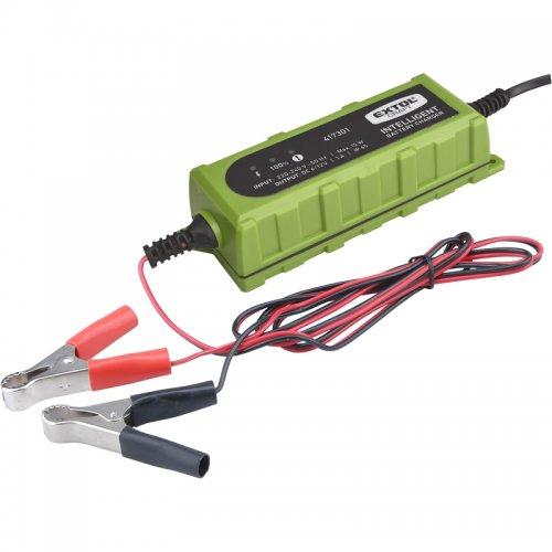Autonabíječka 5stupňová 6/12V 1A s LCD EXTOL CRAFT 417301