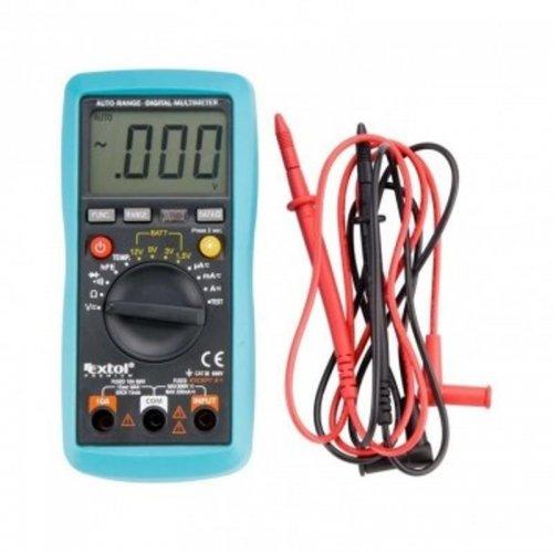 Multimeter digitální s automatickou volbou rozsahů EXTOL PREMIUM 8831250