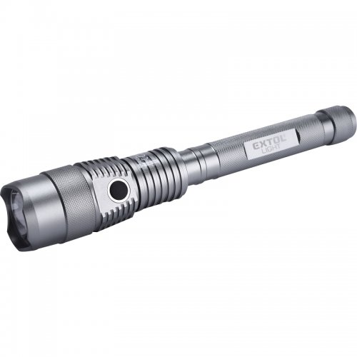 Svítilna 800lm CREE T6 LED s powerbankou EXTOL LIGHT 43124